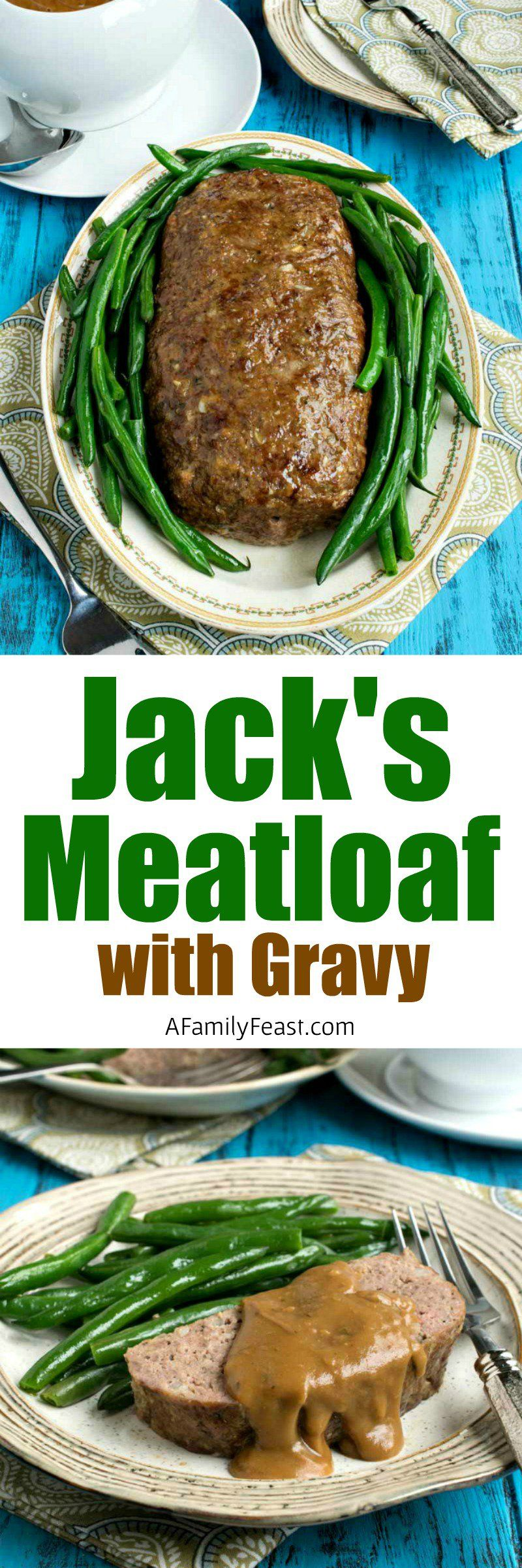 My Husband Jack S Meatloaf With Gravy An Easy Recipe For Moist Delicious Meatloaf With Gravy A Comfort Food Meatloaf With Gravy Delicious Meatloaf Eat Beef