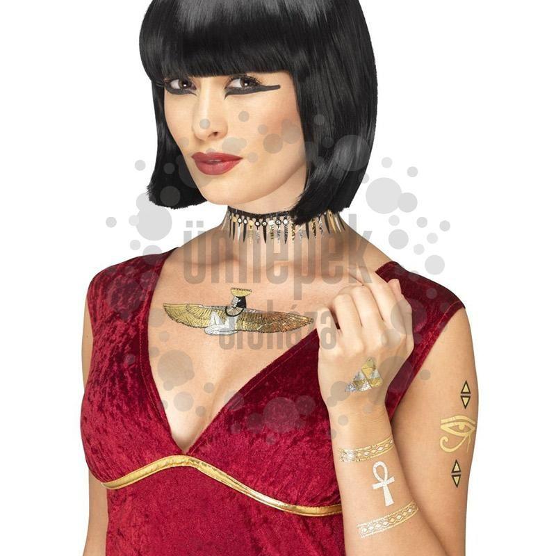 23152d00ec Metál Egyiptomi Mintás Tetoválás Szett | Costume | Egyptian fancy ...