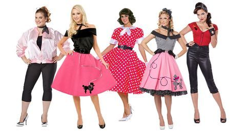 50s Costumes For Women 50s Costume Grease Costumes