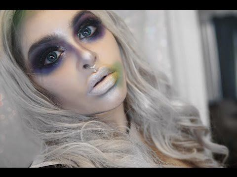 halloweenbeetlejuicemakeup  beetlejuice makeup