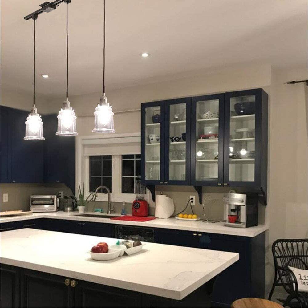 track lighting kitchen pendant light