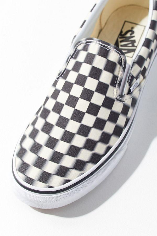 Vans Blurred Checkerboard Slip-On