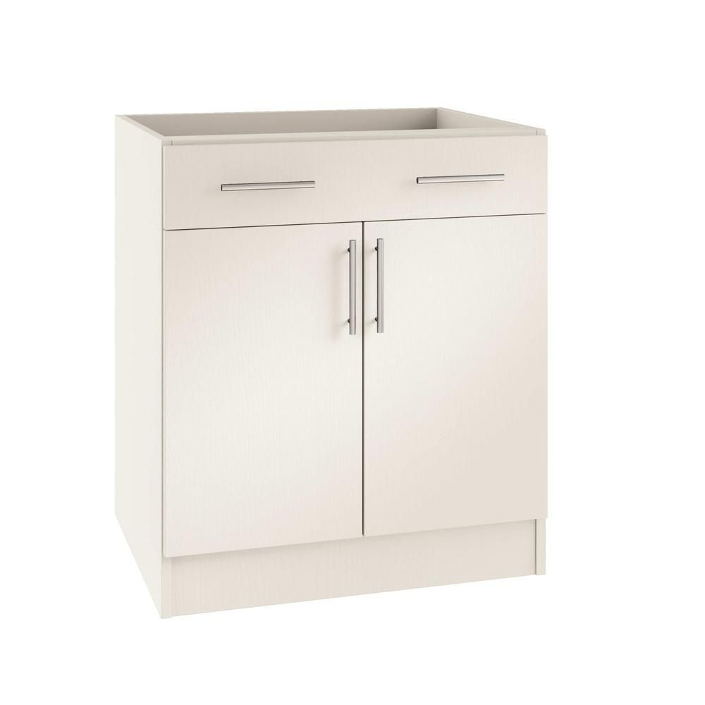 Weatherstrong Assembled 24x34 5x24 In Miami Open Back Outdoor Kitchen Base Cabinet With 2 Doors And 1 Drawer In Radiant White Kitchen Base Cabinets Base Cabinets Tall Cabinet Storage