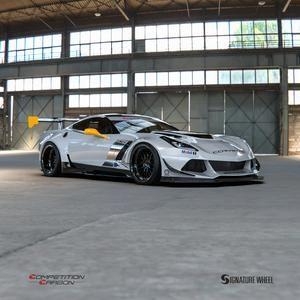 Competition Carbon C7RR Max Airflow Front Bumper – Chevrolet Corvette C7 (14-18)