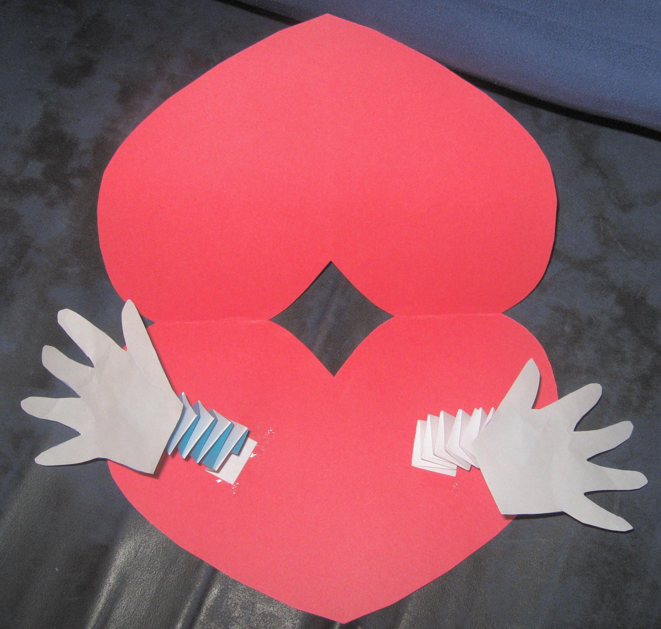 Valentine Craft Cards For Kids Valentines Crafts Homemade