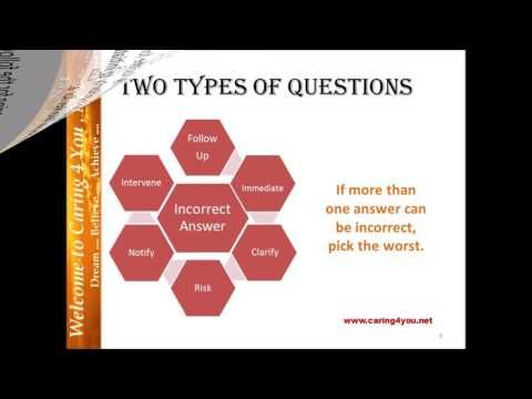 NCLEX Tutoring: Answering Priority Questions - YouTube