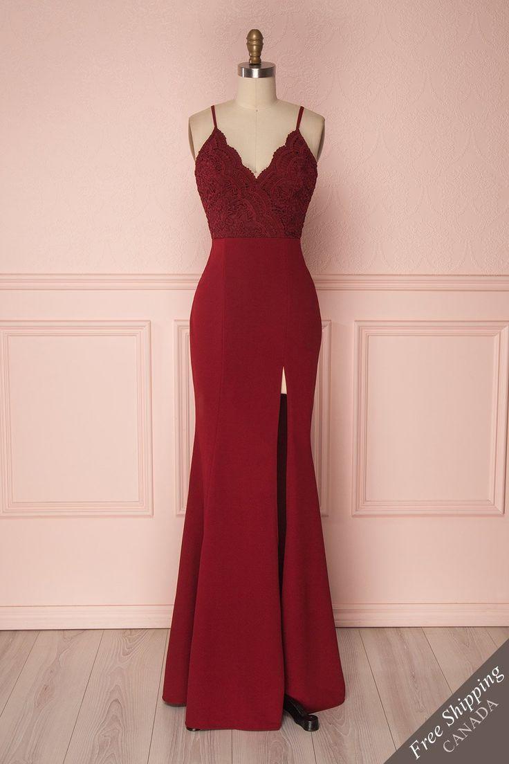 Sivma Wine Sivma Vestidos Longos Elegantes Vestidos Moda [ 1104 x 736 Pixel ]