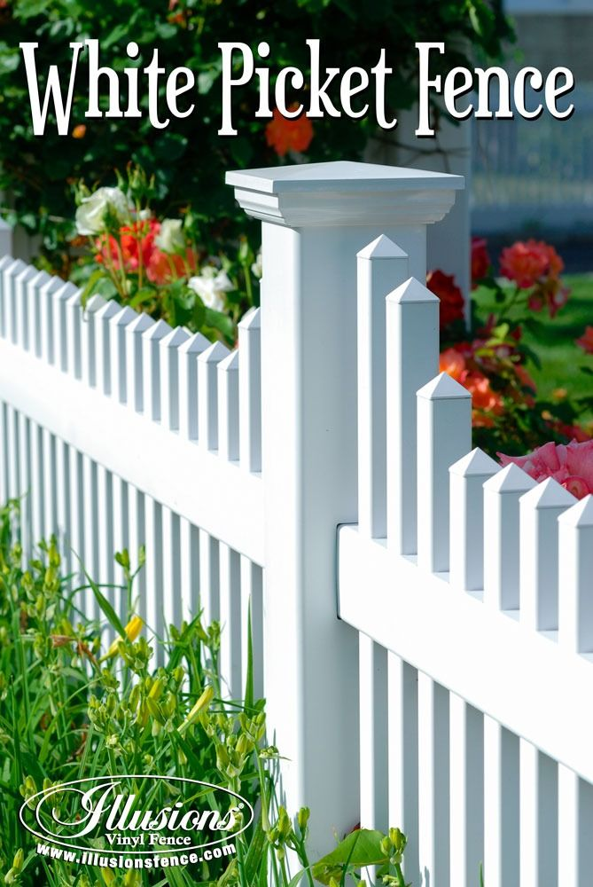 The Sunset Scalloped Wood Picket Fence Pictures Per Foot