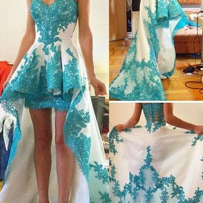 hc242 charming homecoimg dress, appliques homecoimg dress sweetheart short prom dress
