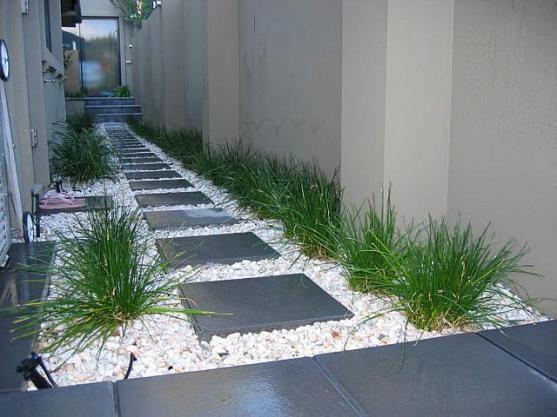Decoración de pasillos exteriores Plantas Graficos Interesantes - decoracion pasillos