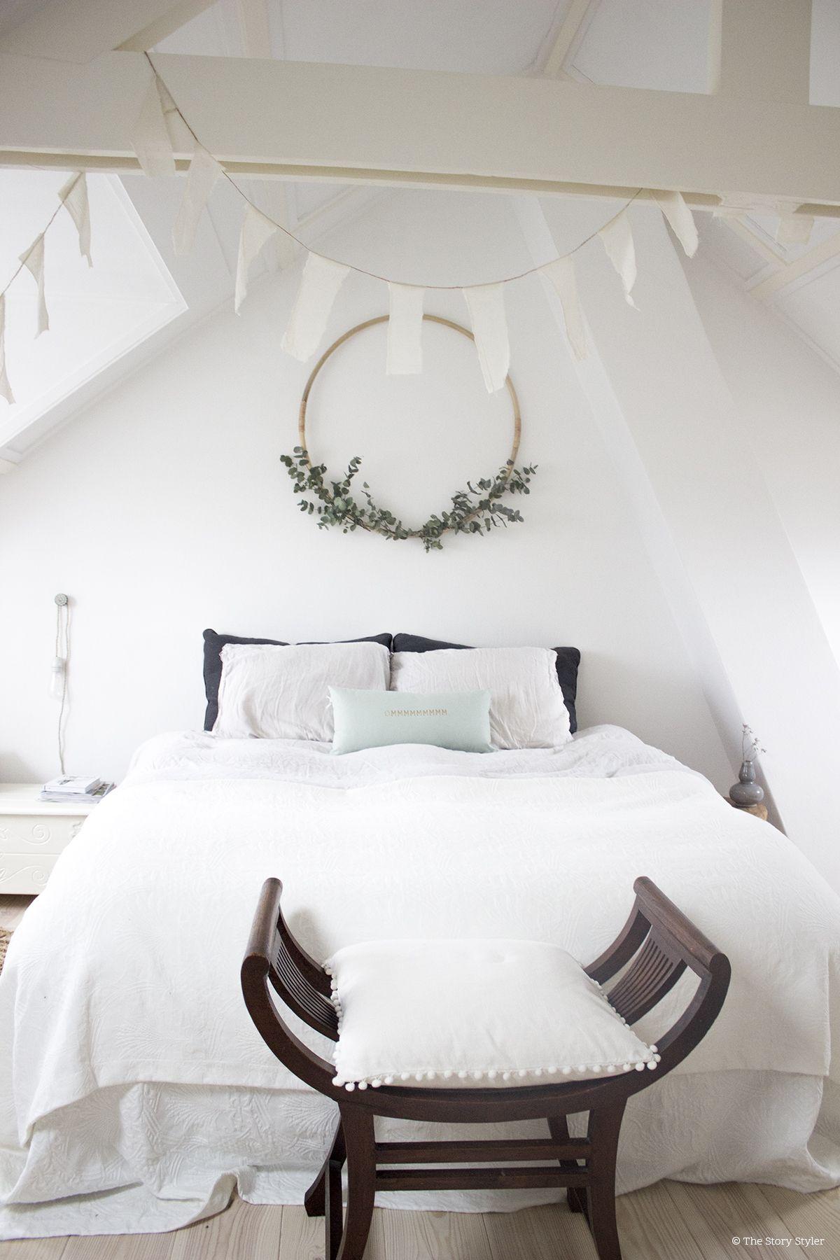 Ikea hack: diy eucalyptus krans - Gemakkelijk en Slaapkamer