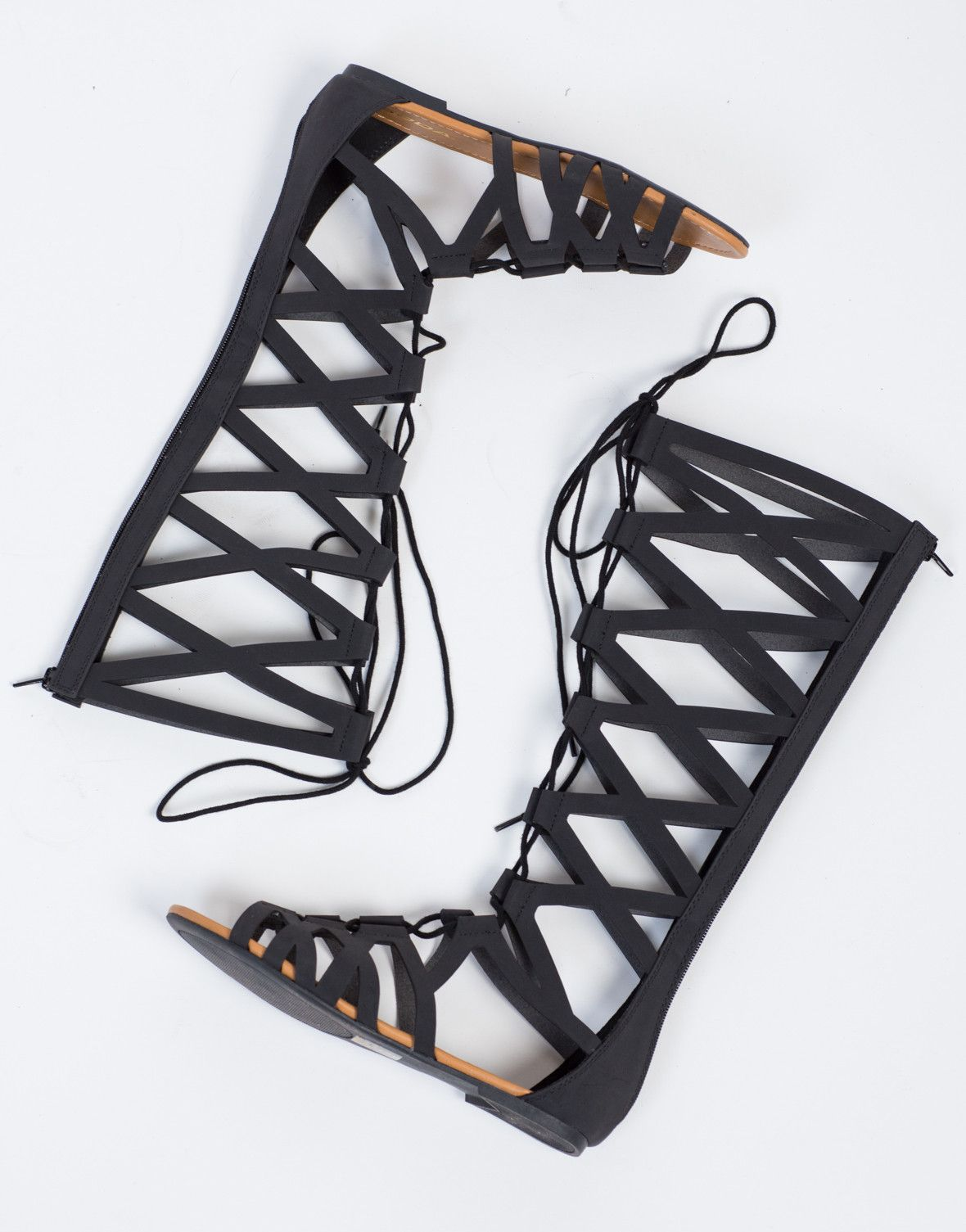 Gladiator sandals town shoes - Tall Lace Up Gladiator Sandals These Are Such Statement Shoes I Love Them