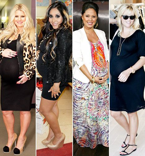 Celebrity Pregnancies 2012: Who Had the Best Maternity Style ...