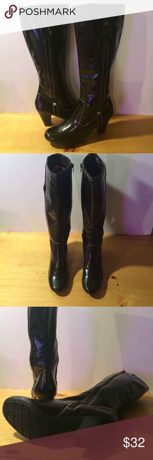 Women's size 8.5M Brown Natural Soul Tall Boots Women's size 8.5M brown Natural Soul, by Naturalizer tall boots. See photos and please message with any questions :) Naturalizer Shoes Heeled Boots