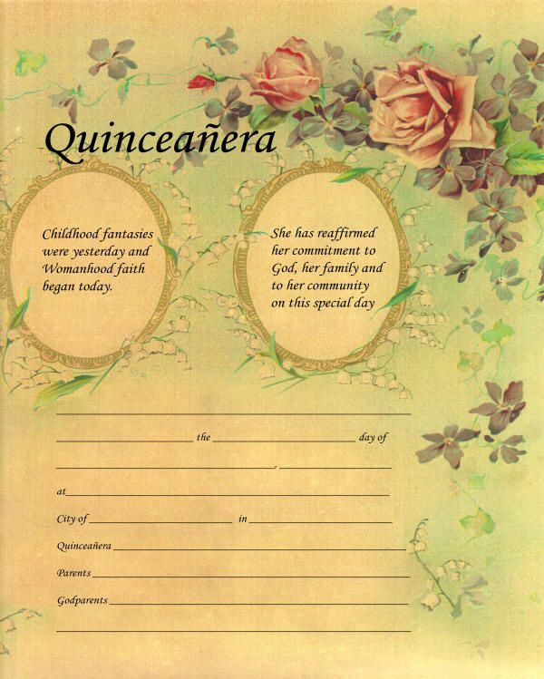 15 Adorable Fashion Powerpoint Templates: Quinceanera Sweet 15 Planner And Ceremony Planning