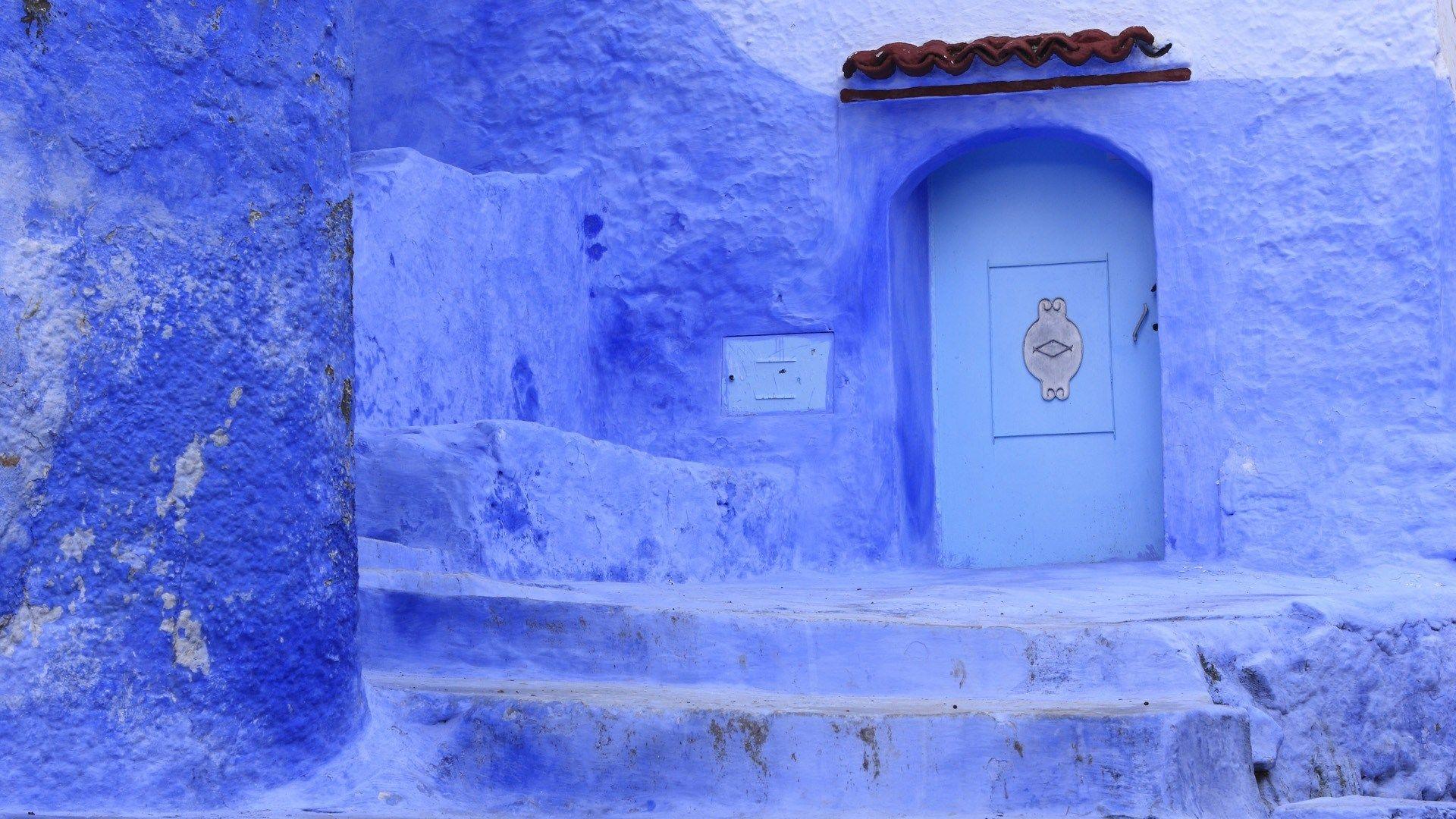 blue moroccan wallpapers hd sharovarka Pinterest