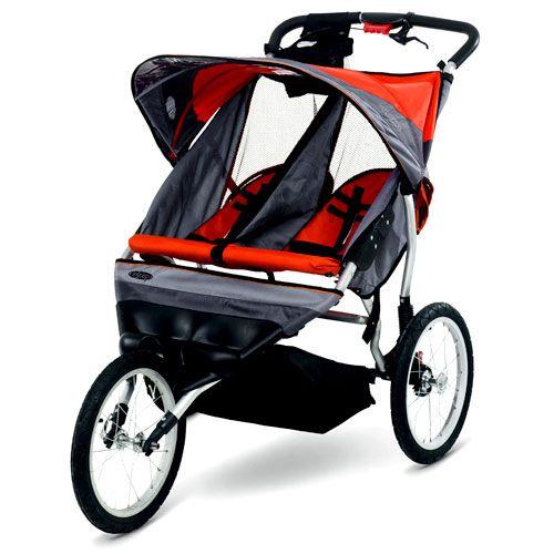 Instep Ultra Runner Double Jogging Stroller Orange 149
