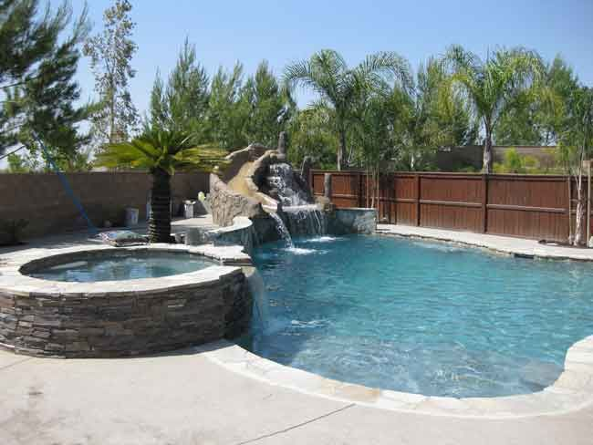 Local vendor cool slide untitled document pools pinterest swimming pool construction for Local swimming pools with slides