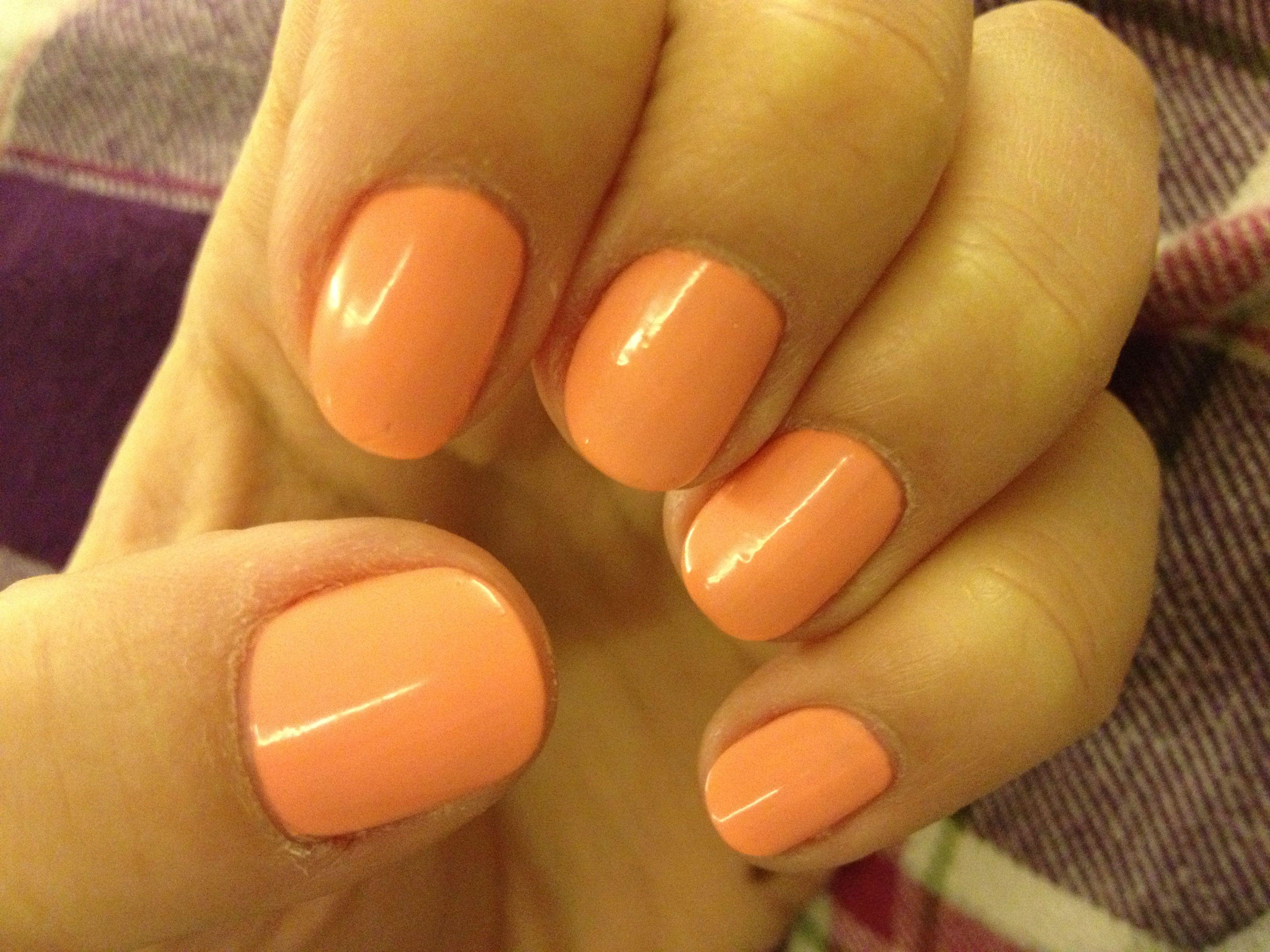 Fresh nails  - Favorite color: PEACH