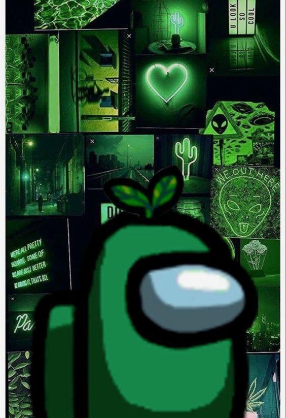 Green Among Us Wallpaper Cute Patterns Wallpaper Iphone Wallpaper Tumblr Aesthetic Aesthetic Iphone Wallpaper
