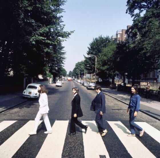 Abbey Road Outtake Beatles Fotografie Zebrapad