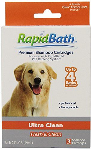 Hydrosurge Rapid Bath Ultra Cleaning Animal Shampoo Cartridges 3