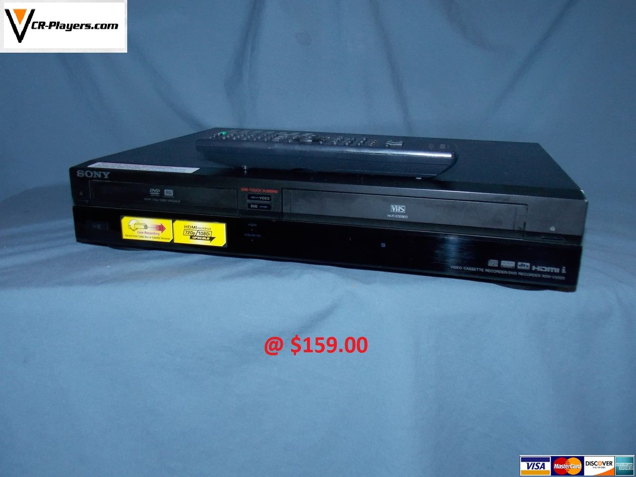 sony rdr vx525 hdmi dvd recorder vhs vcr combo player copy vhs to rh pinterest com Sony DVD VHS Recorder Combo Machine sony rdr-vx530 dvd recorder & vhs combo player manual
