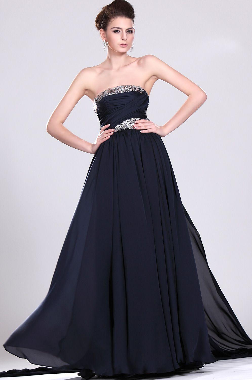 Robe la mode robe mariee bleu marine for Plus la taille robes de mariage washington dc