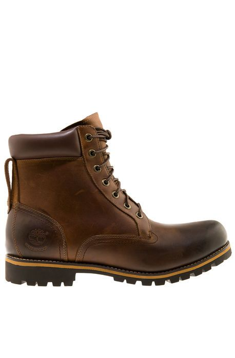 The Timberland Rugged 6 Plain Toe Waterproof Boot In Copper Roughcut