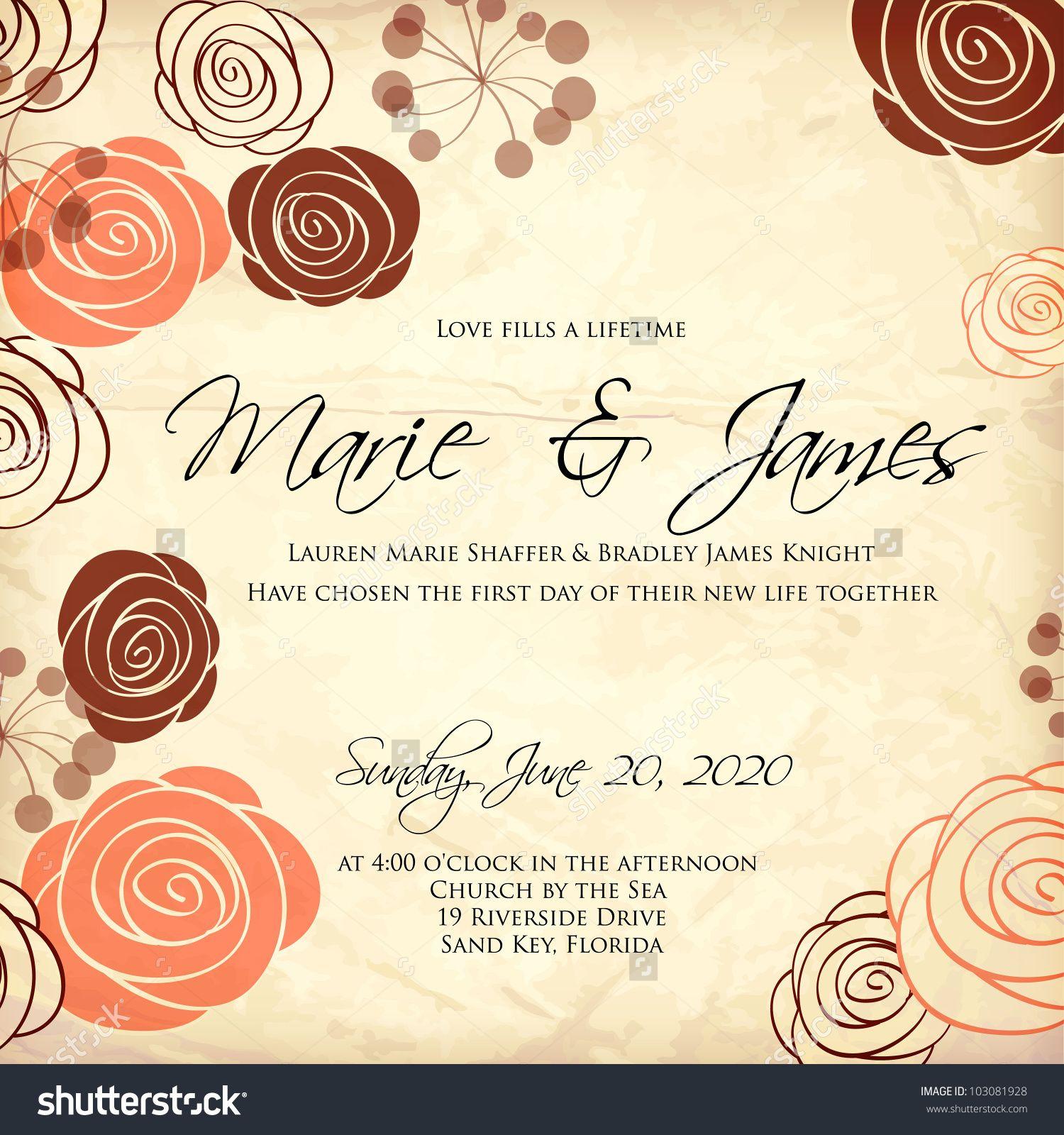 Pin by anggit wirawan on Wedding Invitation Inspiration