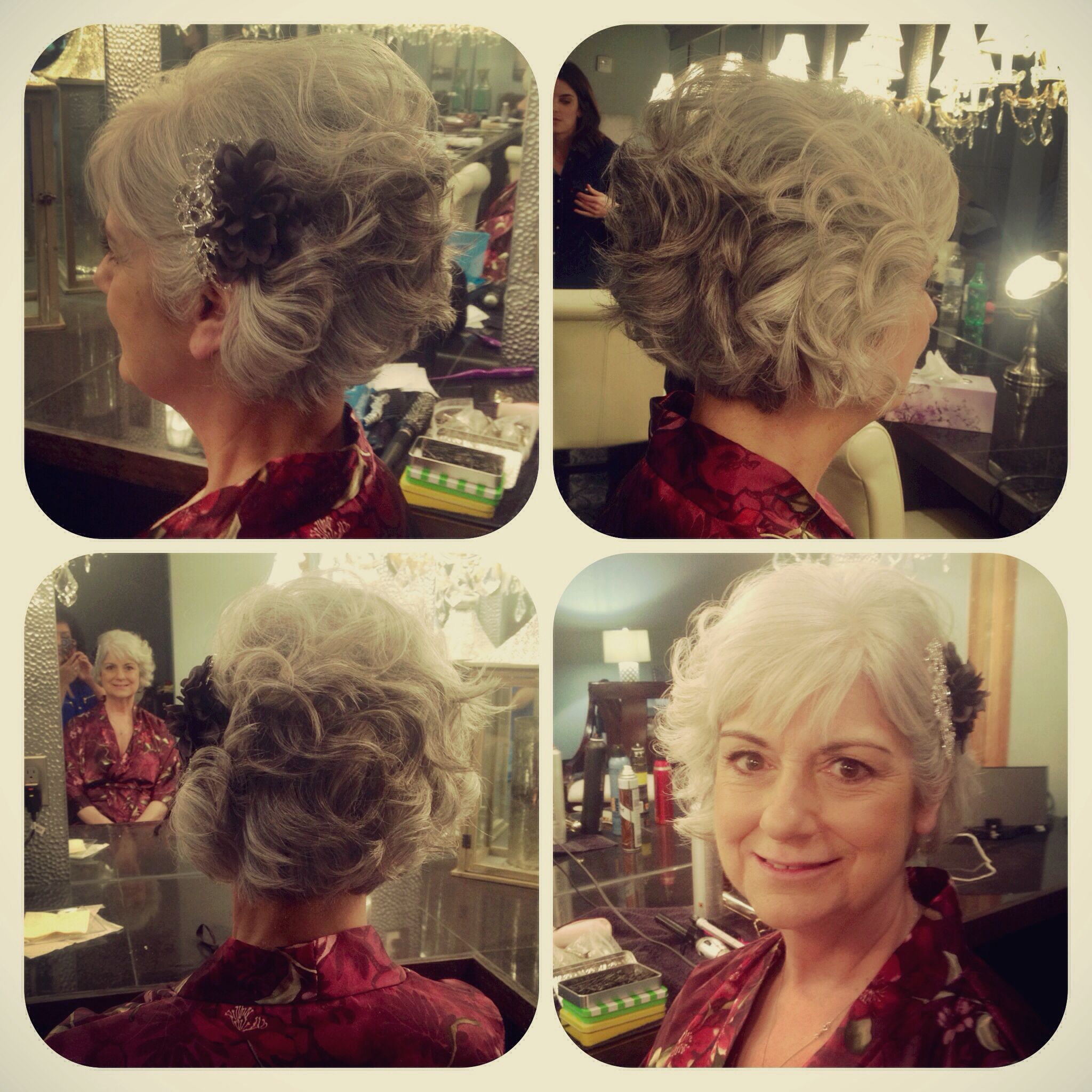 Mother Of Groom Hairstyles Mob Hair Mother Of The Bride Hair Bob Grey Hair Wedding Party