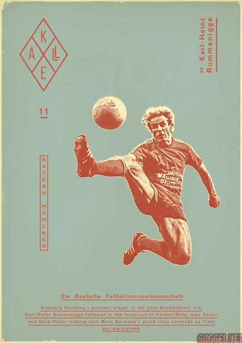 cool Sucker for Soccer by Zoran Lucić, via Behance