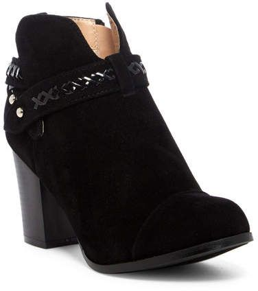 Chase & Chloe Andrea Whipstiched Bootie 9CDsHeUaQ8