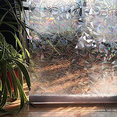 3d Window Films No Glue Static Decorative Laser 35 4in X 78 7in 90 X 200cm Decorative Window Film Window Film Window Film Privacy