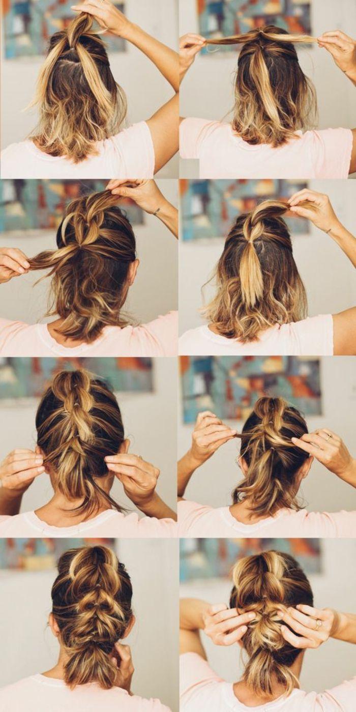 ideas de peinados de fiesta atractivos y femeninos hair style