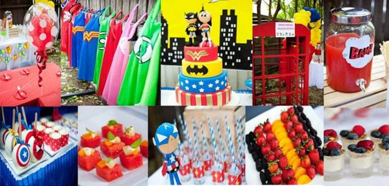 superhero birthday party games for 4 year olds - Superheroes ...