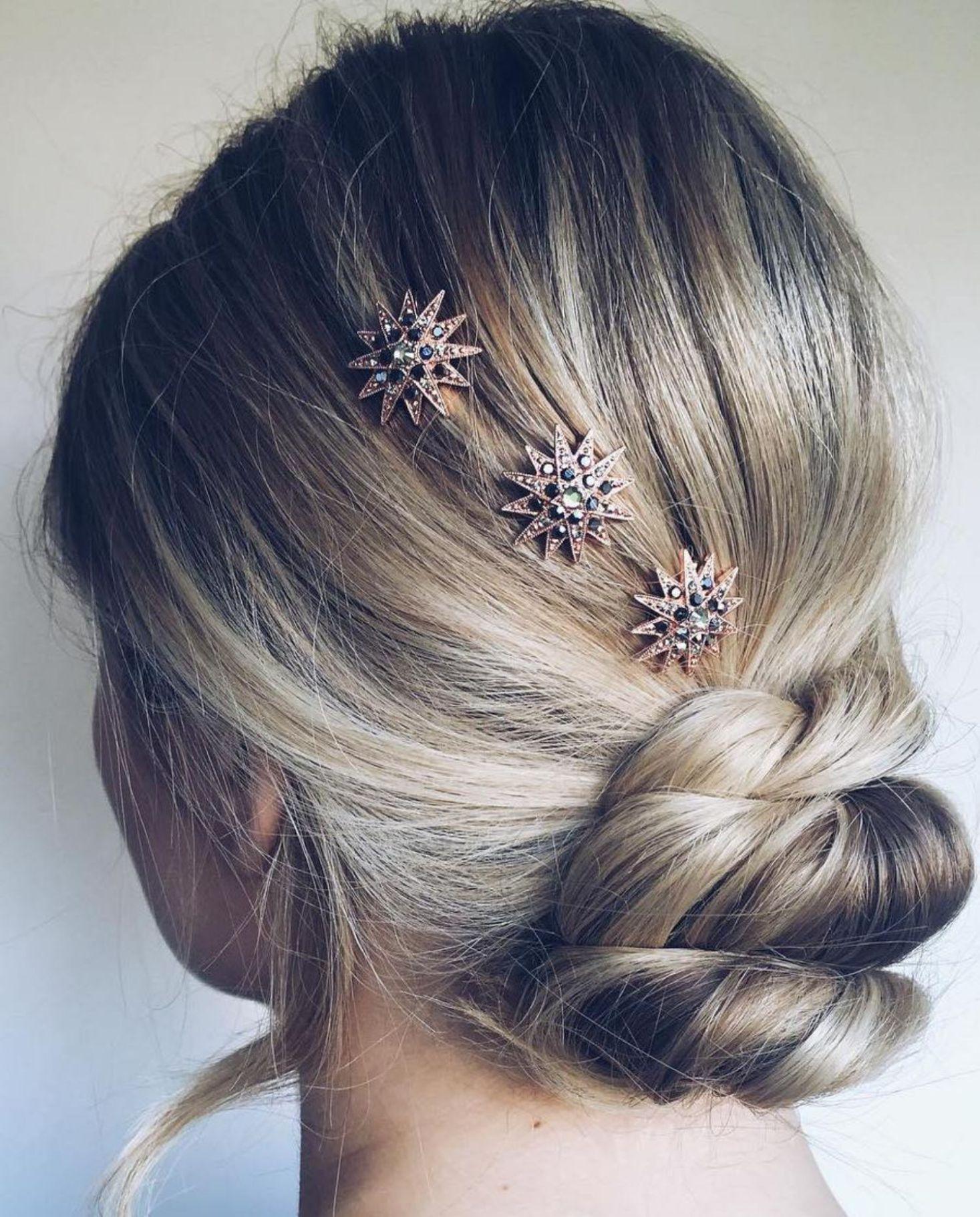 60 Trendiest Updos for Medium Length Hair   Hairstyles for ...