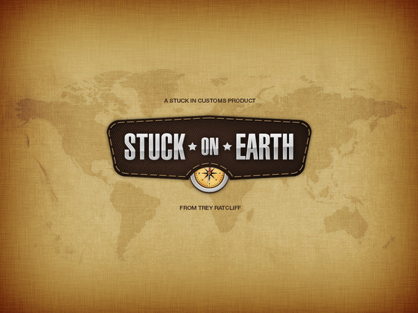 Stuck on Earth // iPad App by Jasmin Memisevic, via