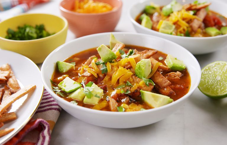 This Tortilla Soup Is The Perfect Rainy Day Dinner