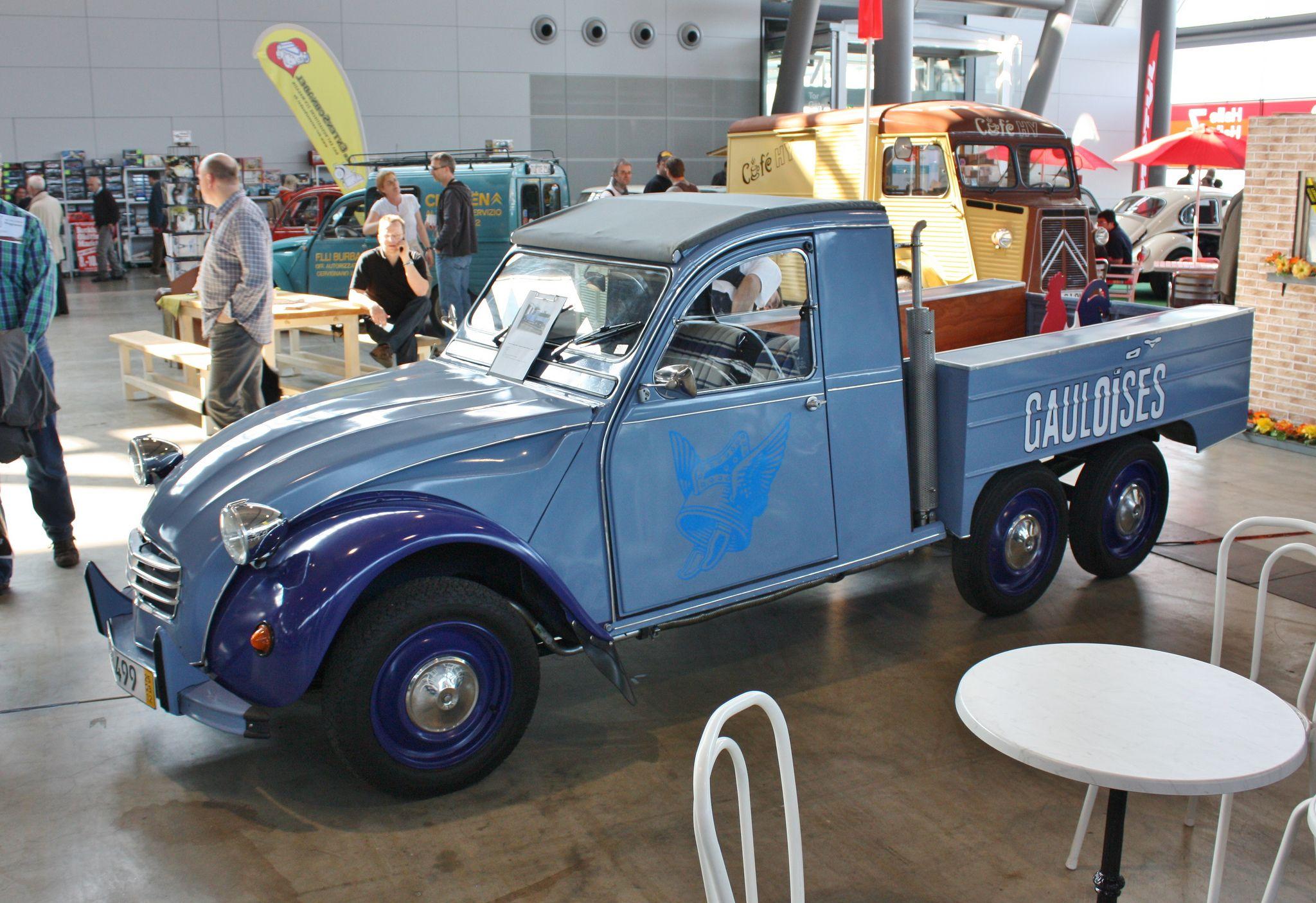 Citroen 2cv Pickup Gauloises Retro Classics Stuttgart Citroen 2cv Citroen Classic Cars
