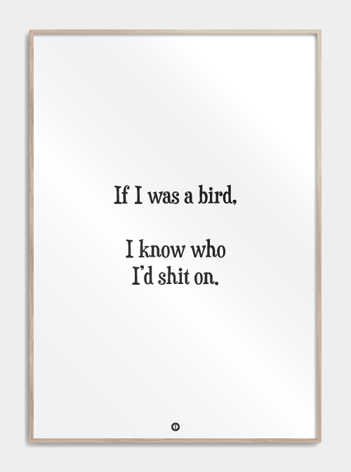 If I Was A Bird I 2020 Inspirerende Citater