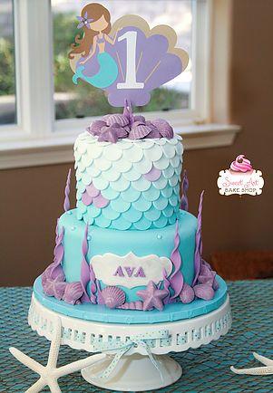 Mermaid Scales Cake Recherche Google Mermaid Parties