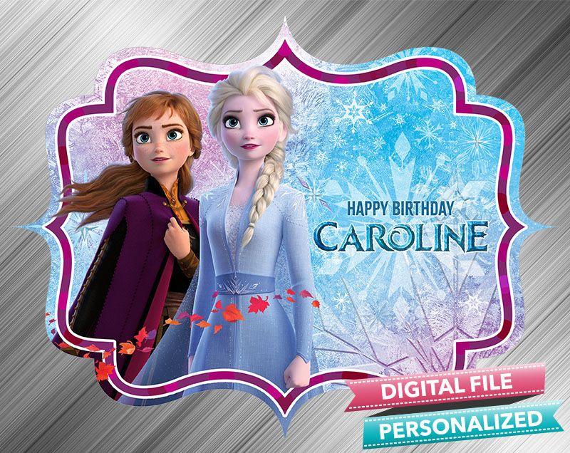 frozen 2 birthday sign  happy birthday signs printable