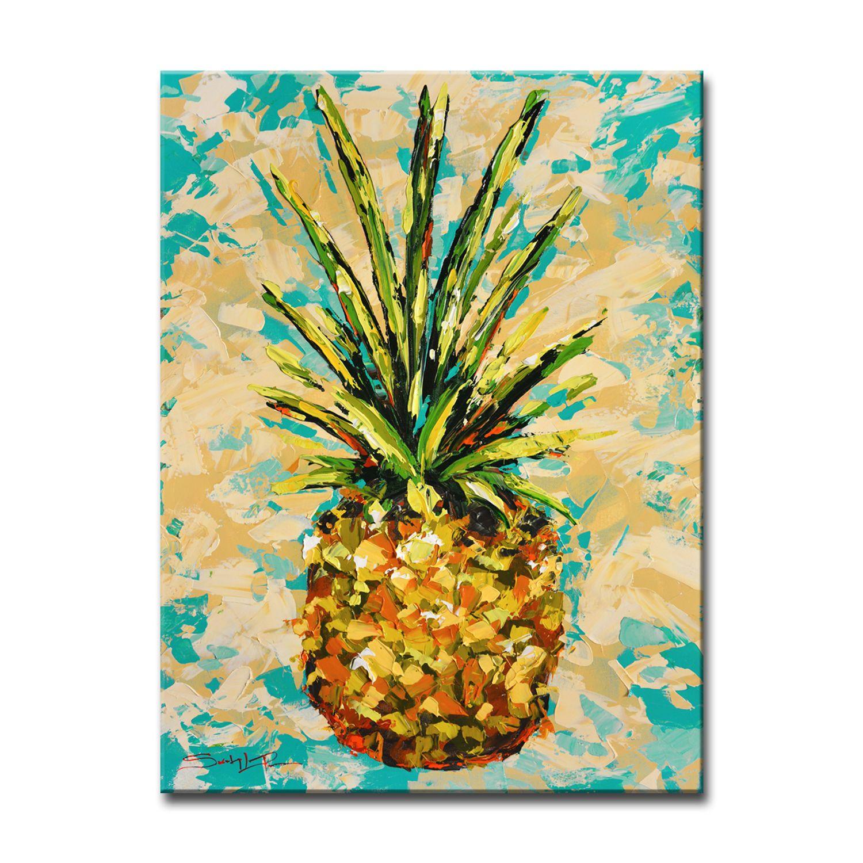 Fiesta Pineapple Small Canvas Wall Art | Pinterest | Small canvas ...