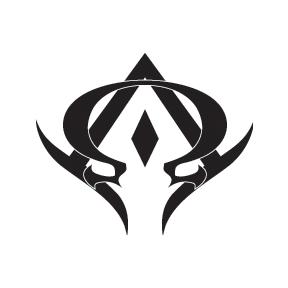 Alpha Omega Tattoo By Demonking Aka Grim Alpha Omega Tattoo Symbolic Tattoos Cool Symbols