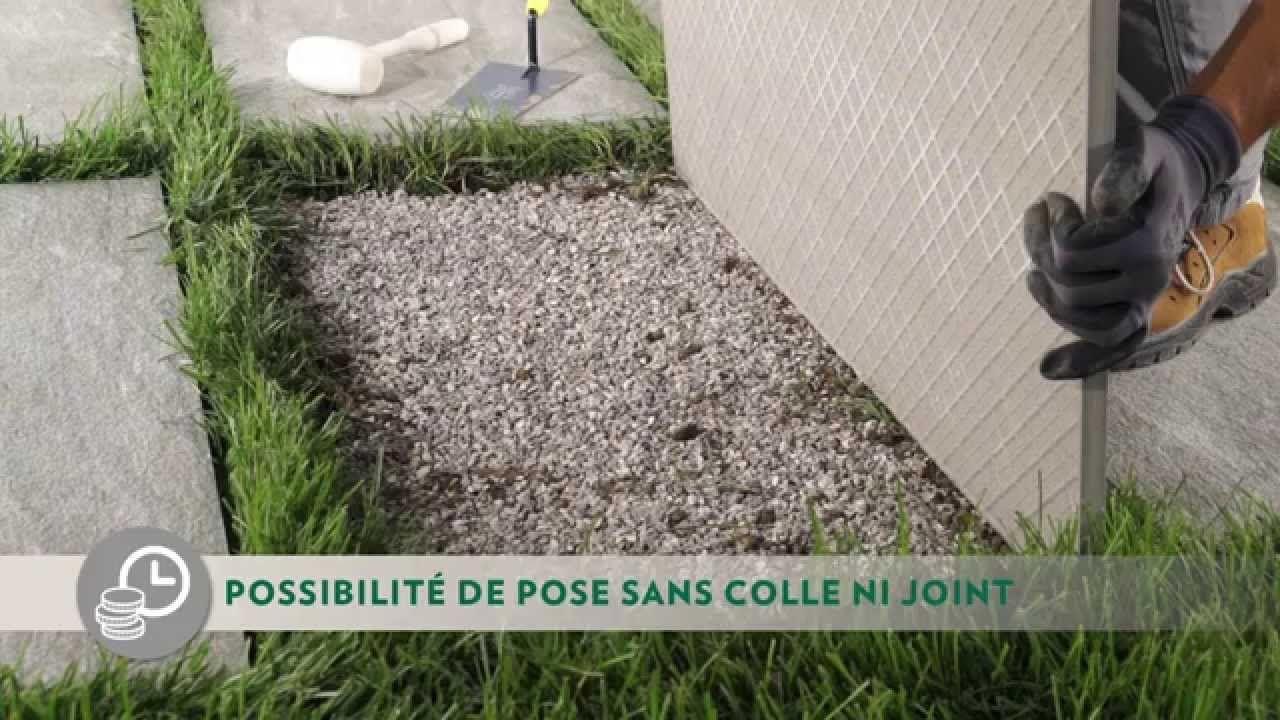 Carrelage 2cm Pose Sur Pelouse Comment Poser Dalles 20mm Sur Herbe Pelouse Dalle Jardin Pas Japonais