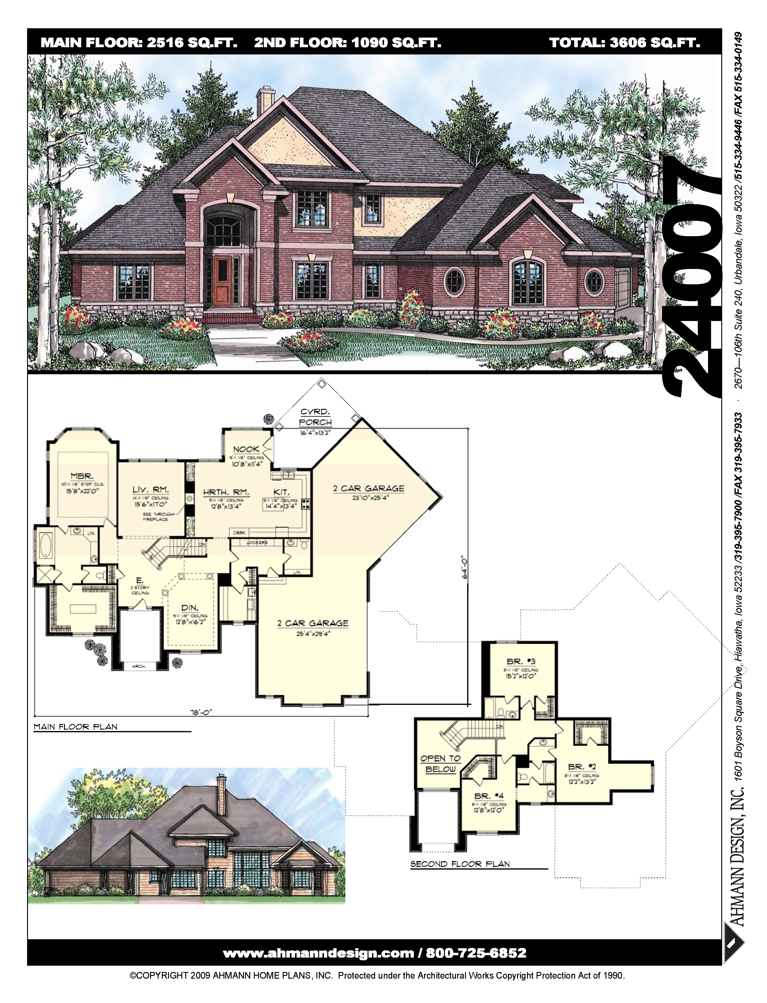 24007 | 1 1/2 story plans in 2019 | House plans, Sims house ... on brick ranch house plans, brick house with vinyl siding, brick and rock house plans, two story brick traditional house plans, brick french country house plans, 4-bedroom brick house plans, brick and cedar house plans, brick and stone house plans,