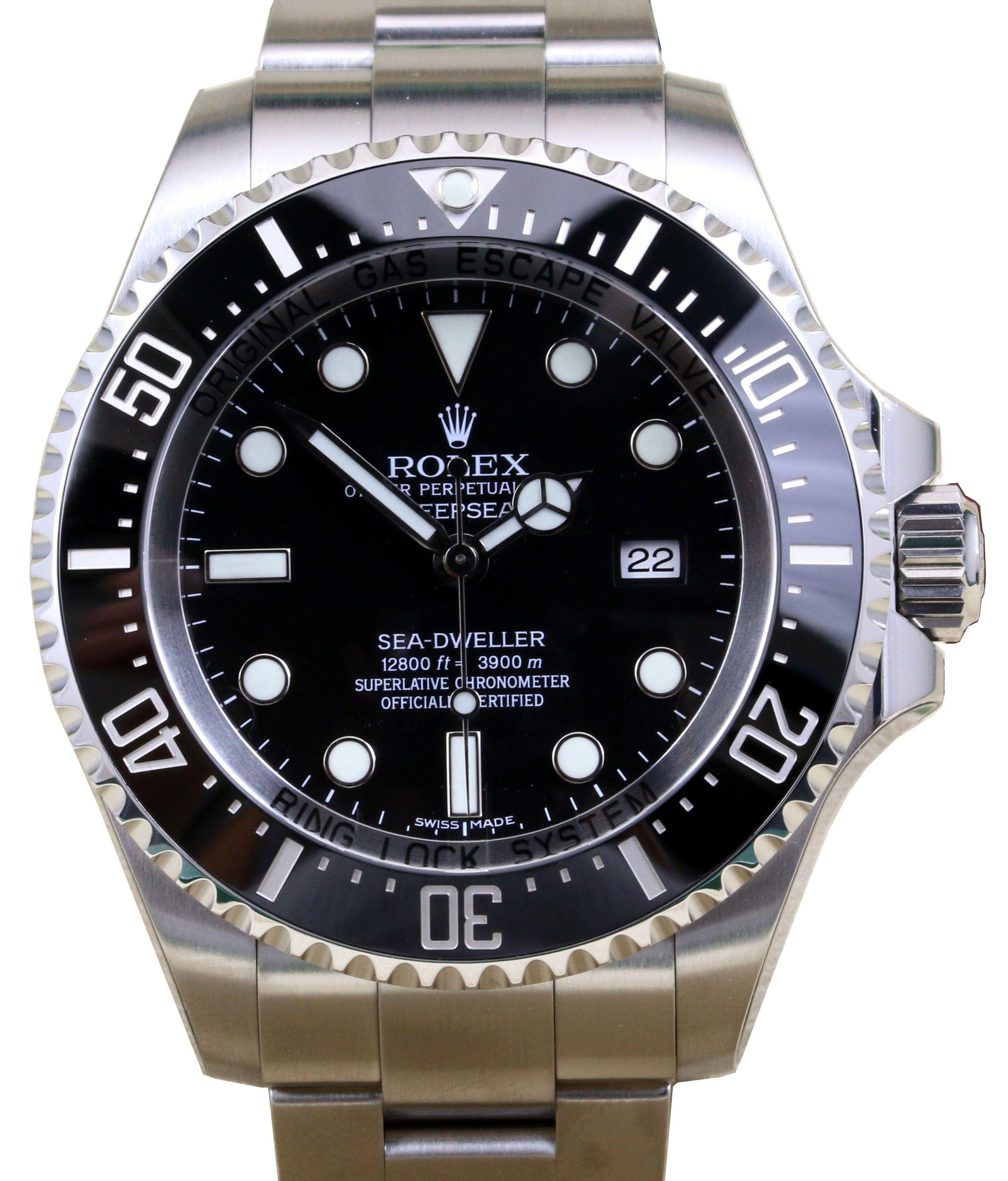 Rolex Deepsea 116660 Ceramic Stainless Steel 44mm Black