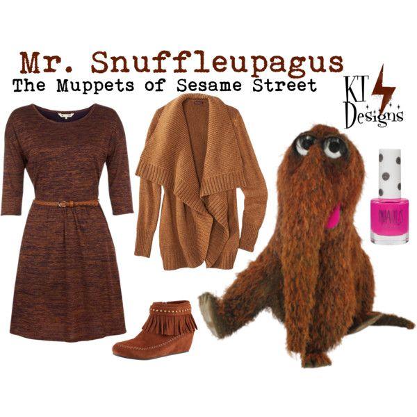 Mr Aloysius Snuffleupagus Snuffy Disney Inspired