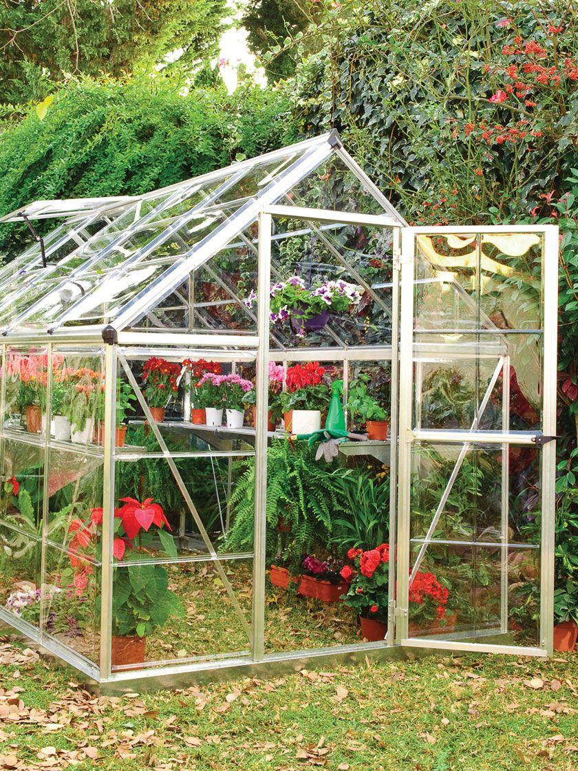 Palram Harmony Greenhouse 6x10 Gardener S Supply Greenhouse